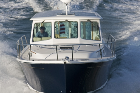 DownEast 37 becomes a big hit at the Sydney International Boat Show!